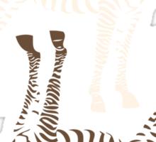 Zebras Pattern Sticker