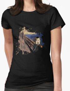 Scream Alone Womens Fitted T-Shirt