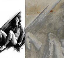 Bradley - Conté Drawing COMPILATION by Paul Davenport
