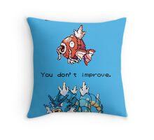 Magikarp Motivation Poster - Struggle! Throw Pillow