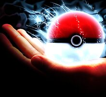 A Trainers Pokeball by Stephen Dwyer