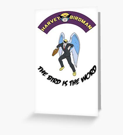harvey birdman attorney at law  Greeting Card