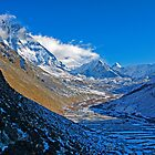 Dingboche Vista by Harry Oldmeadow