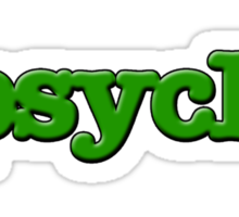 Psych Design Sticker