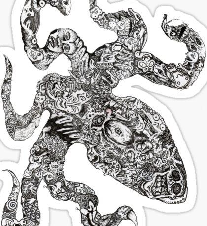 Aorta VI Squid Sticker