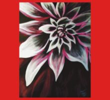 PopArt Big Red Flower. . .WOW EM-Flower Power by Karen L Ramsey