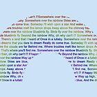 Somewhere Over The Rainbow by Emma Le Strange