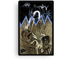 Beauty is the Beast Canvas Print