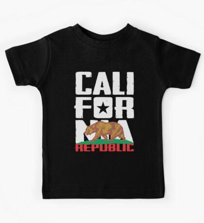 California Republic Kids Tee