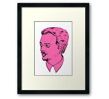 Mr. Pink Framed Print