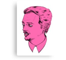 Mr. Pink Canvas Print