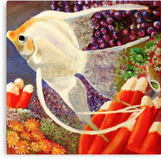 White Angel  by bohemianartist