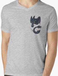 Dragon in your pocket Mens V-Neck T-Shirt