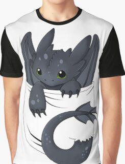 Dragon in your pocket Graphic T-Shirt
