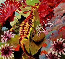 Weedy Sea Dragon by bohemianartist
