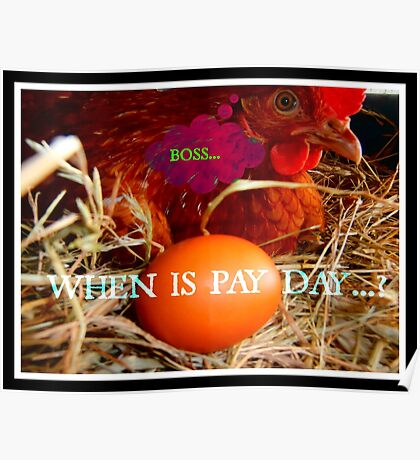 when is pay day...? Poster