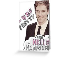 Fancy Benedict Greeting Card