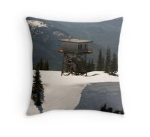 High on the Hill Throw Pillow