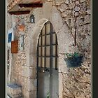 Front Door to a Home in Italy by Warren. A. Williams