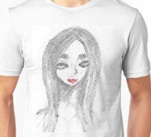 Achromatic Kiss Unisex T-Shirt