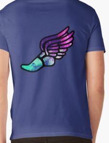Galaxy Track Logo Mens V-Neck T-Shirt