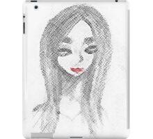 Achromatic Kiss iPad Case/Skin