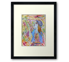 Something Colourful, This Way Comes Framed Print