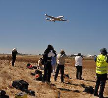 Photographing Connie, Avalon Airshow, Victoria, Australia 2013 by muz2142