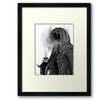 "Grim Reaper ""Still Smoking"" Framed Print"