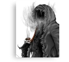 "Grim Reaper ""Still Smoking"" Canvas Print"