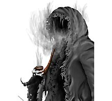 "Grim Reaper ""Still Smoking"" Photographic Print"