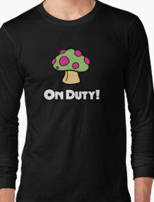 On Duty Shroom Long Sleeve T-Shirt