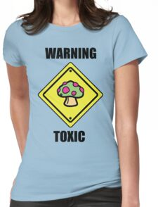 Toxic Shroom Womens Fitted T-Shirt