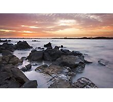 Dampier Sunsets Photographic Print