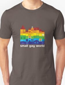 Small Gay World - Dark Background T-Shirt