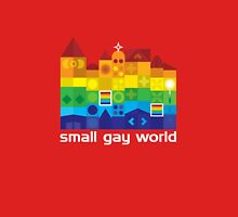 Small Gay World - Dark Background Unisex T-Shirt