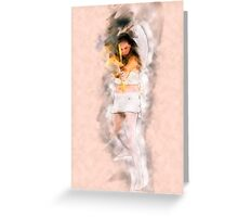 Cupid (Greek Eros) the god of desire, affection and erotic love In Roman mythology, Greeting Card