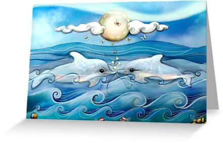 baby dolphins by © Karin Taylor
