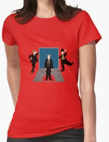 Silent Comedy Stars Womens Fitted T-Shirt