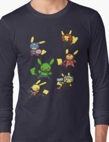 Pikachu Avengers Long Sleeve T-Shirt
