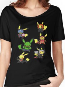 Pikachu Avengers Women's Relaxed Fit T-Shirt