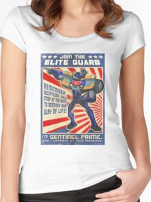 Elite Guard Women's Fitted Scoop T-Shirt