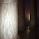 Sunrise at the Jefferson Memorial by Bine