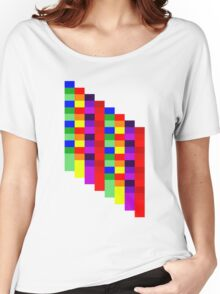 Squares Women's Relaxed Fit T-Shirt