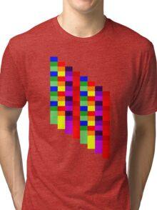 Squares Tri-blend T-Shirt