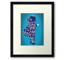 The Dark Knight - Joker: Ahead of the Curve Framed Print
