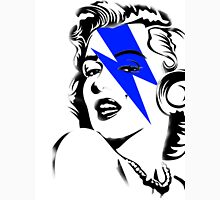 Blue flash Marilyn stardust Unisex T-Shirt