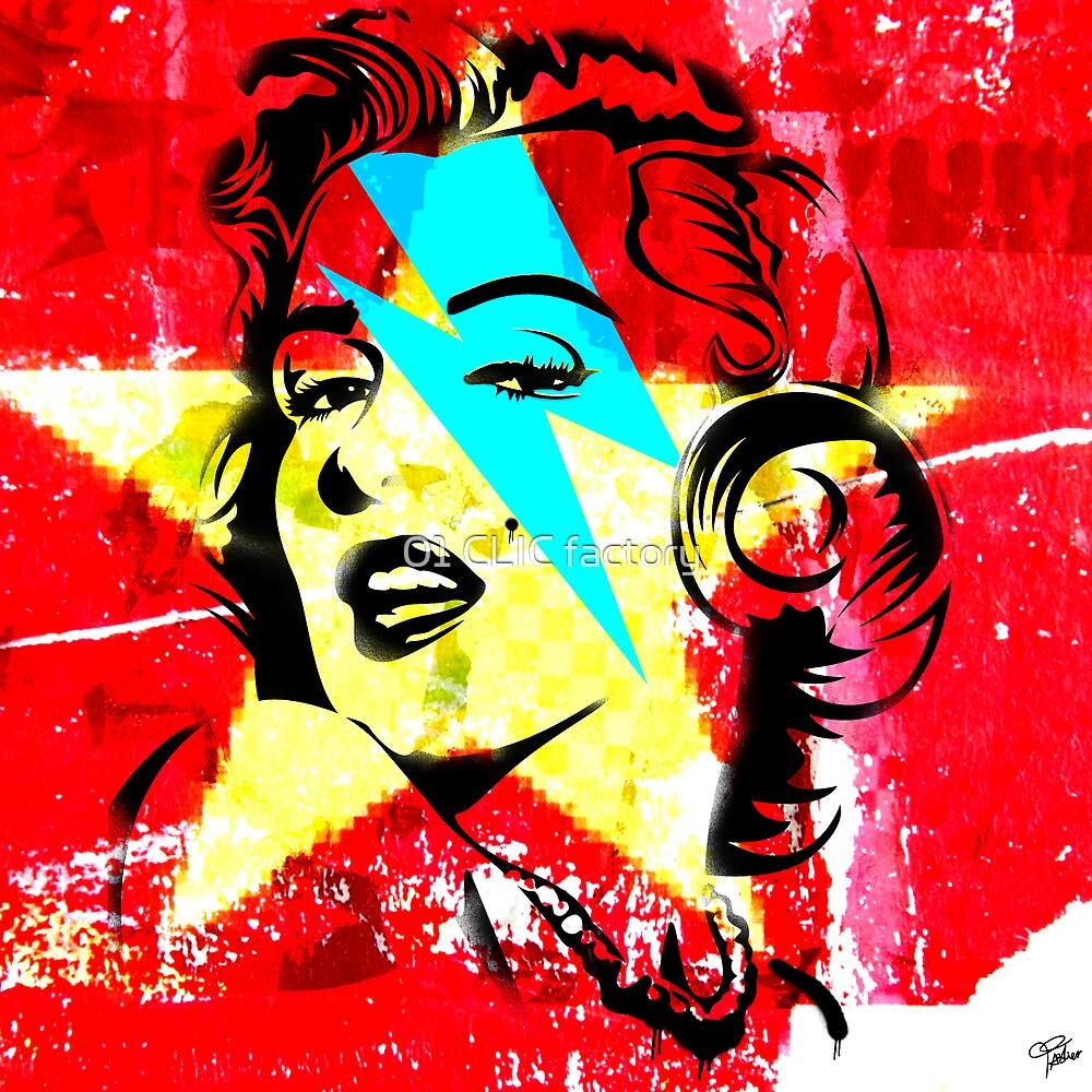 Blue flash Marilyn stardust 2 by PASLIER Morgan