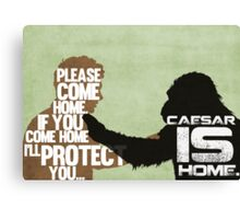 Rise of the Planet of the Apes: Caesar is Home Canvas Print