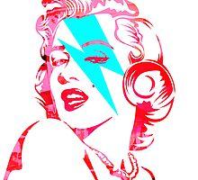 Blue flash Marilyn stardust 3 by PASLIER Morgan